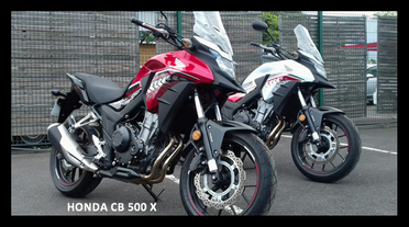 LOCATION REUNION HONDA CB 500 X