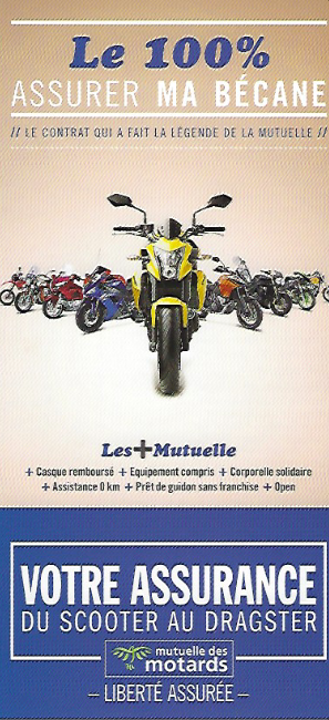BROCHURE ASSURANCE MOTOCYCLES